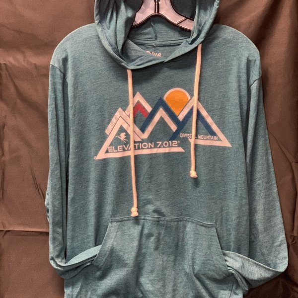 Beholden Mountains Triblend Hooded L/S