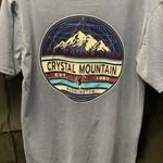 Orbicular Mtn/Skier Dyed Ringspun Tee
