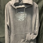Half Snow Flake Crystal Hoody