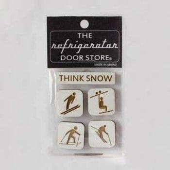 Think Snow Magnet Set