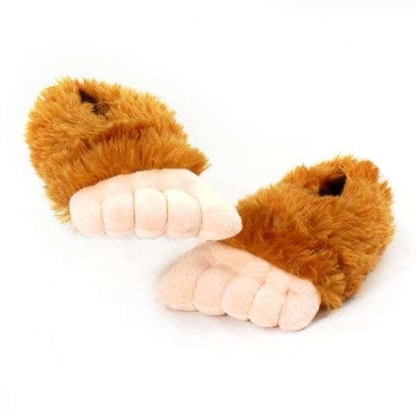 Wishpets Sasquatch Bigfoot Slippers