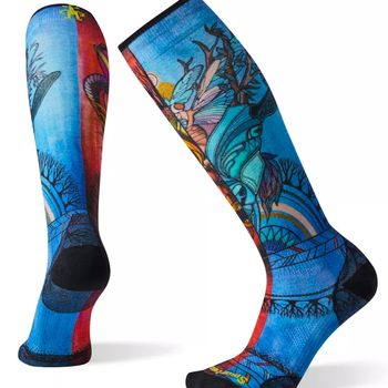 Smartwool Women's PhD Ski Ultra Light Print Socks