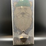 Wall Mounted Wood Bottle Opener