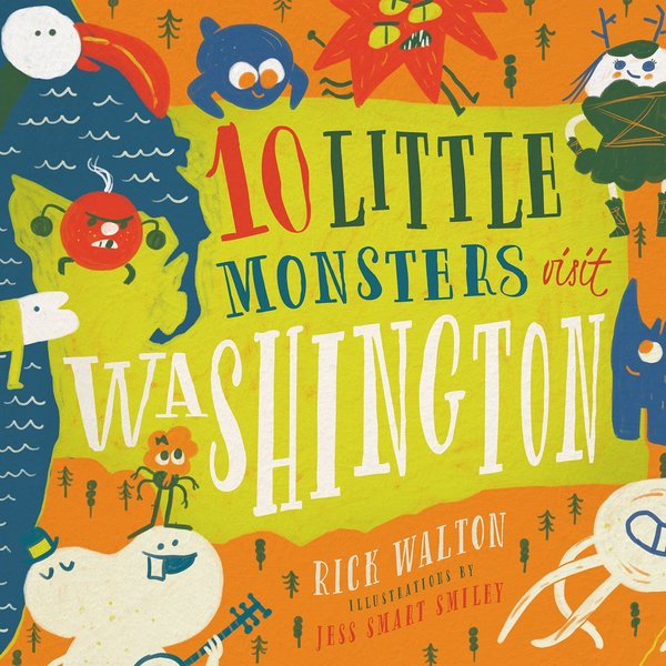 Children's Book 10 Little Monsters