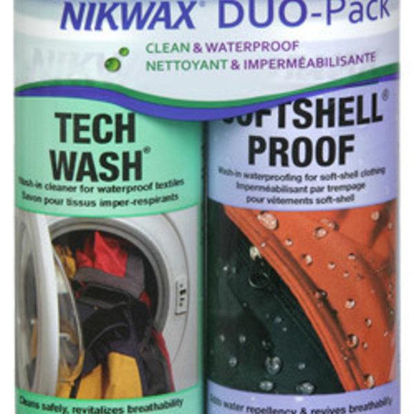 Nikwax Softshell DuoPak