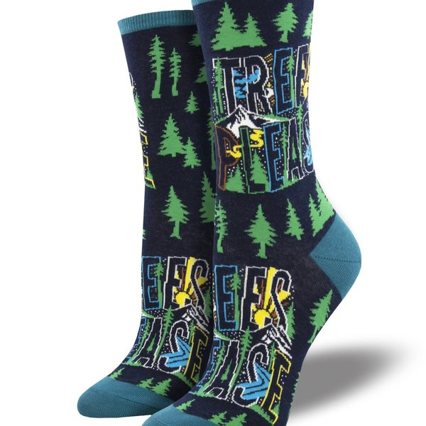 Trees Please Socks