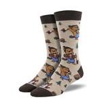 Knotty Beaver Socks