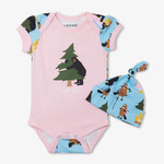 Baby Body Suit with Hat