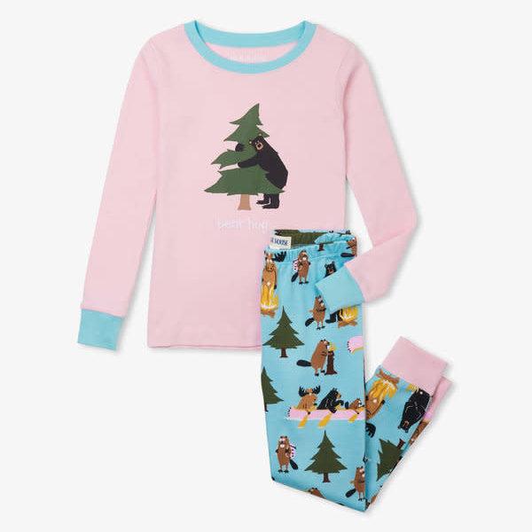 Kid's Applique Pajama Set