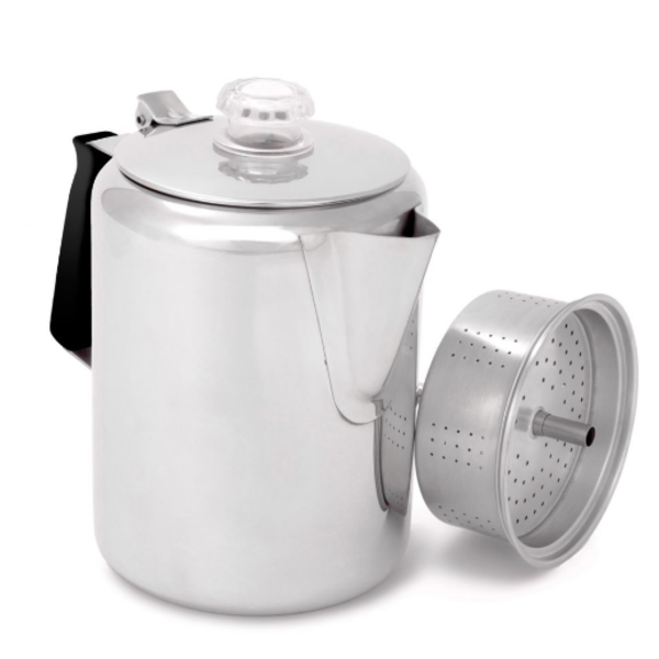 GSI Outdoors GSI Outdoor Glacier Stainless 9 Cup Percolator