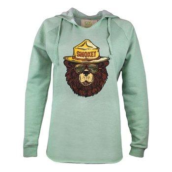 Smokey the Groovy Bear Hooded Sweatshirt