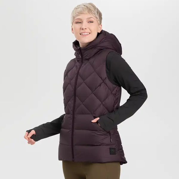 Outdoor Research Women's Coldfront Hooded Down Vest