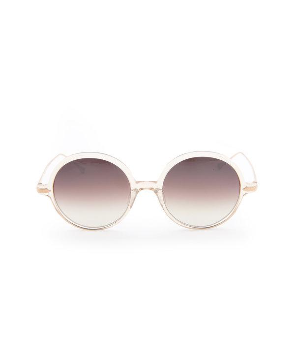 Round M9012 Clear Sunglasses