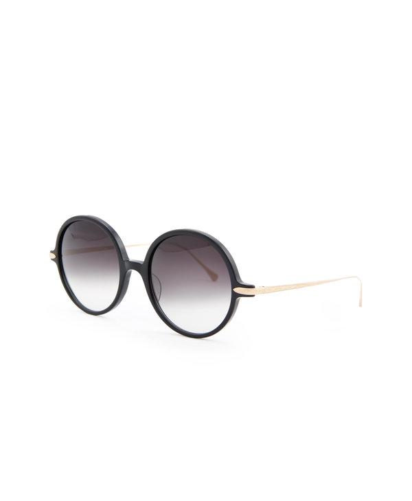 Round M9012 Black Sunglasses