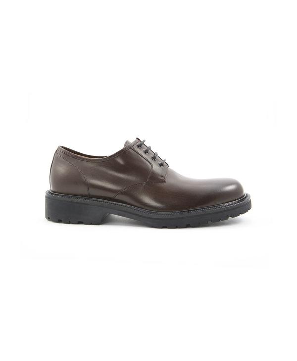 Chaussure Derby brune