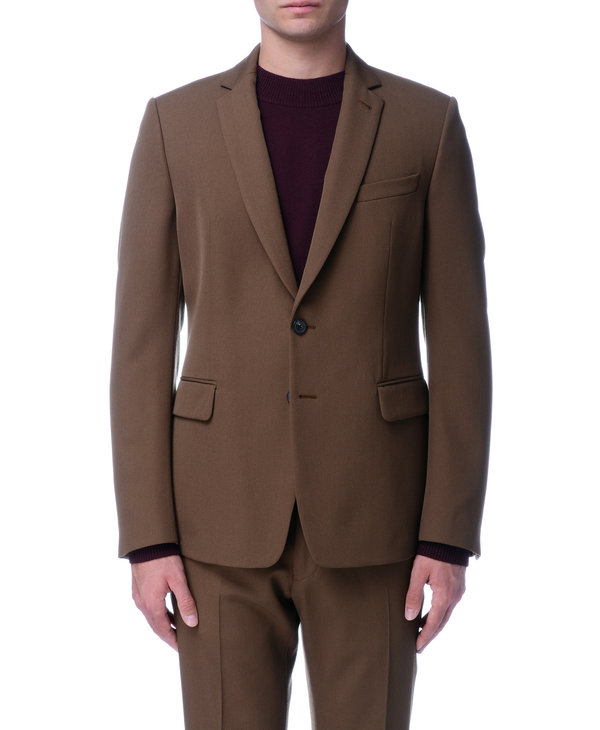 Veston brun en laine