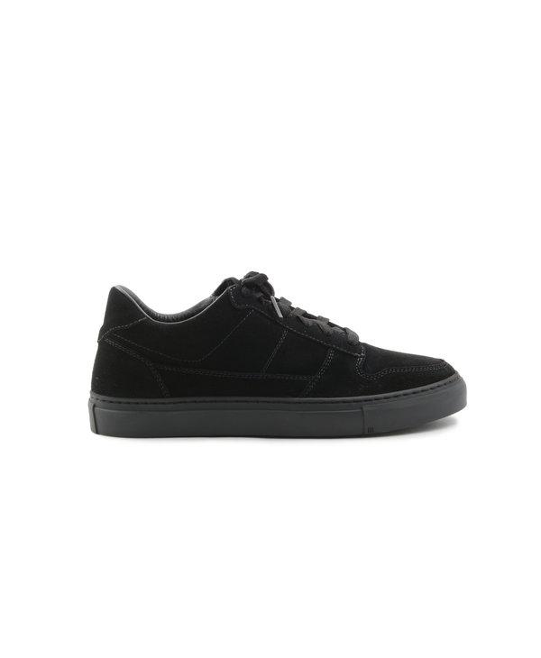 Chaussures Marostica Low en Suède Noir