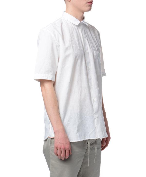 White Shirt Casual Linen