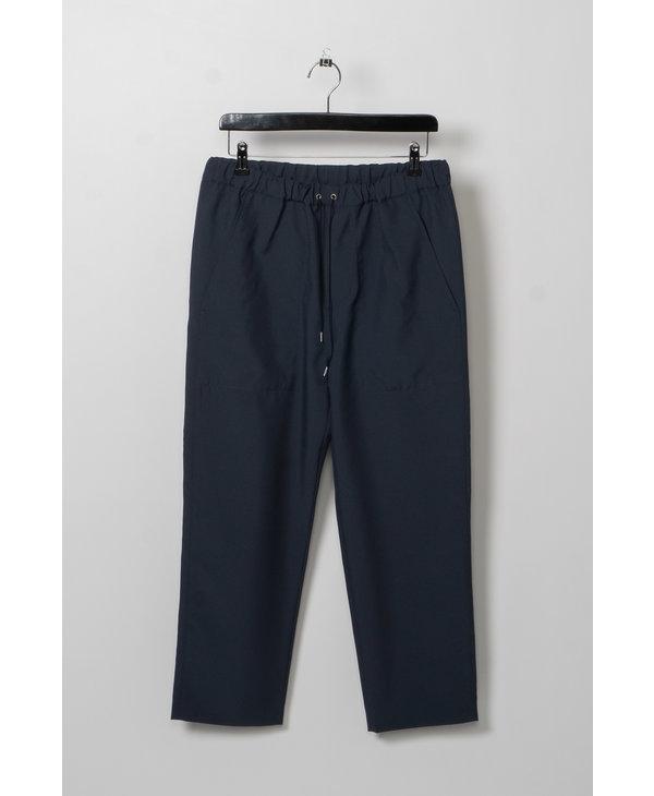 Pantalon à Cordon Coulissant Bleu