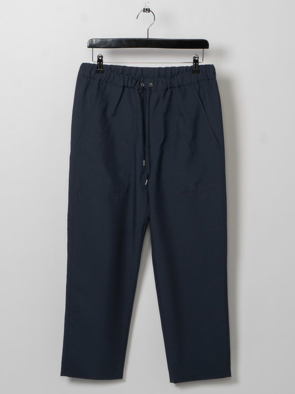 OAMC Blue Cropped Drawcord Trousers
