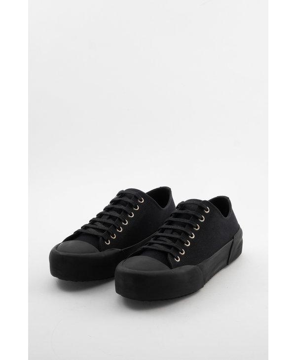 Black Canvas Sneakers