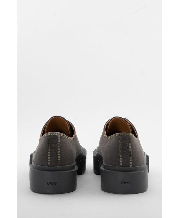 Grey Inflate Plimsoll Sneakers