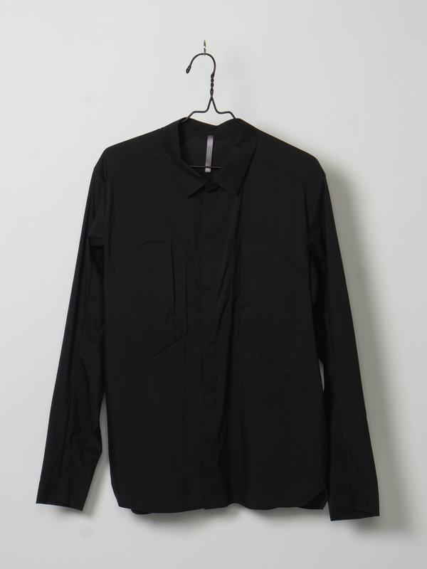 Veilance Black DEMLO Over Shirt