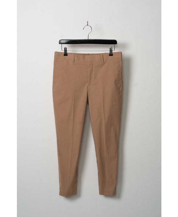 Beige Cotton Trousers