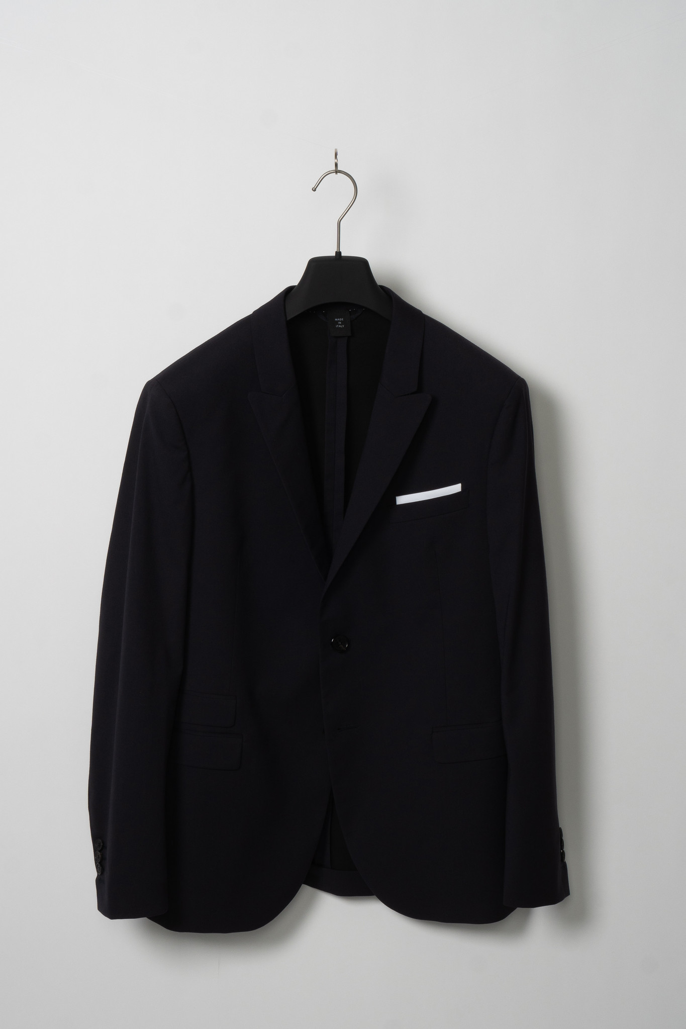 Navy Cotton Suit