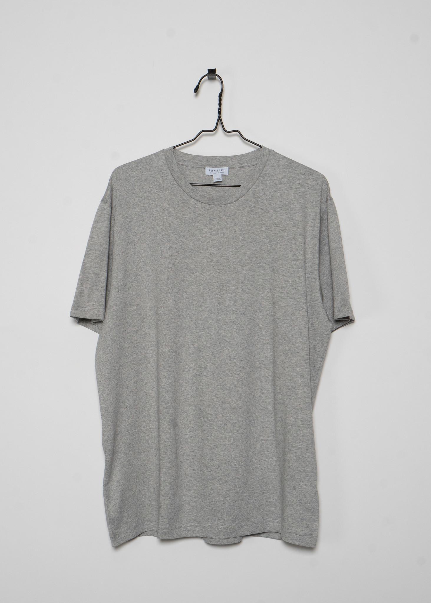 Grey Crewneck T-Shirt