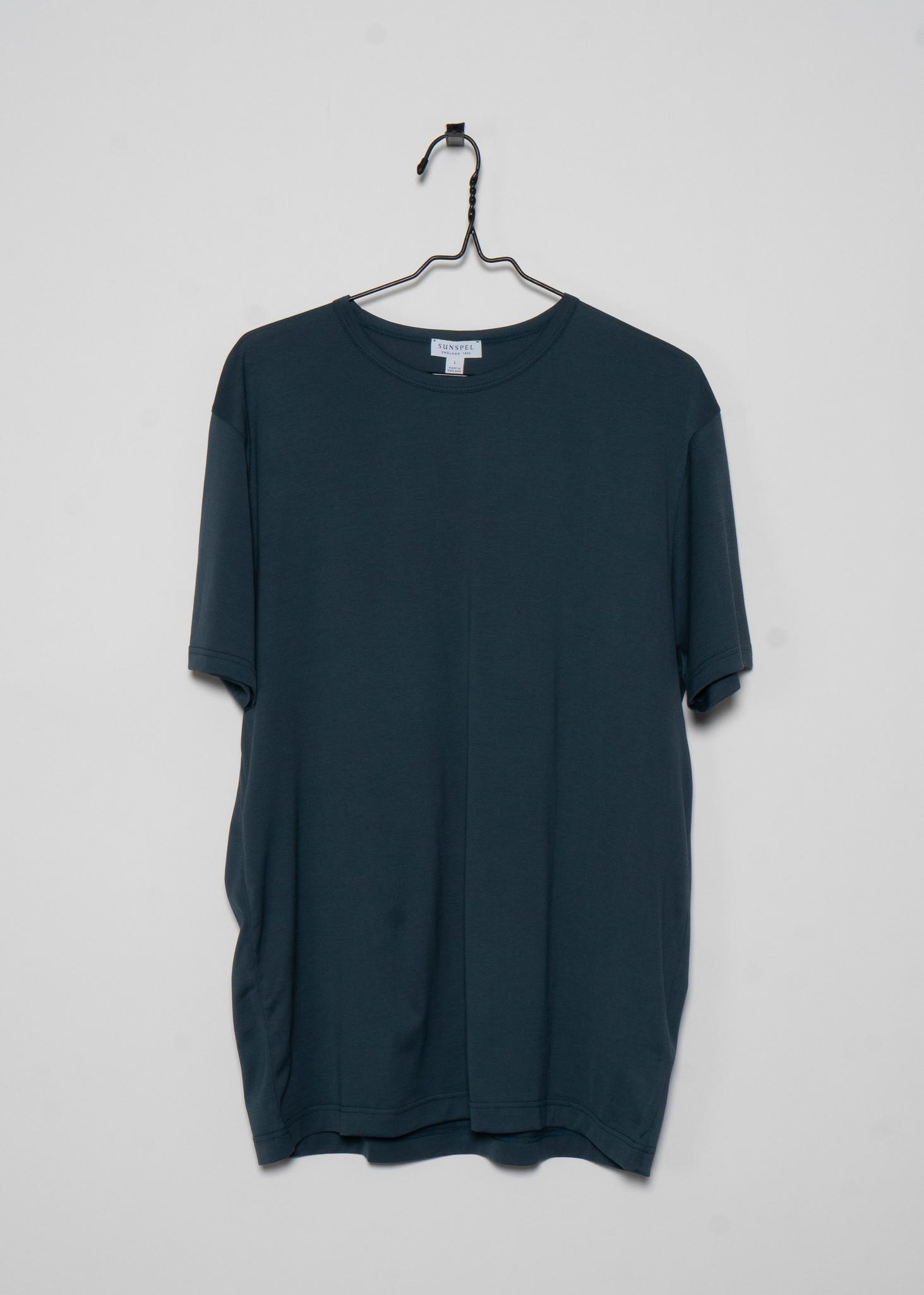 Petrol Green Crewneck T-Shirt
