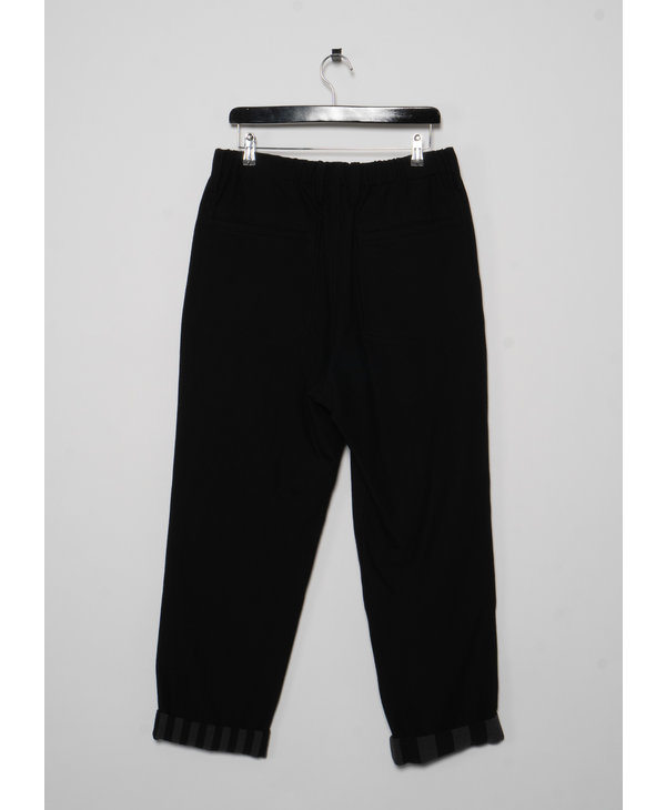 Black Pants with Elastic Waist