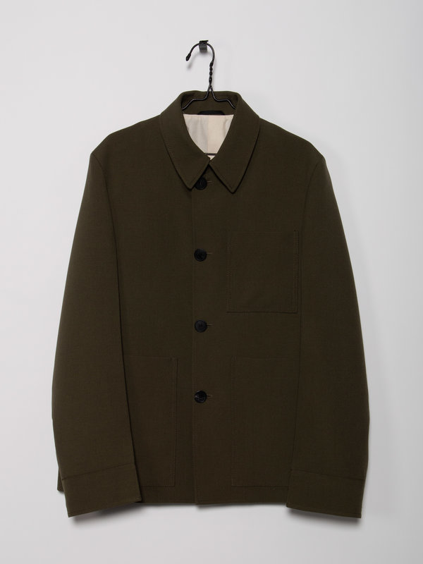 OAMC Kaki Warrant Jacket
