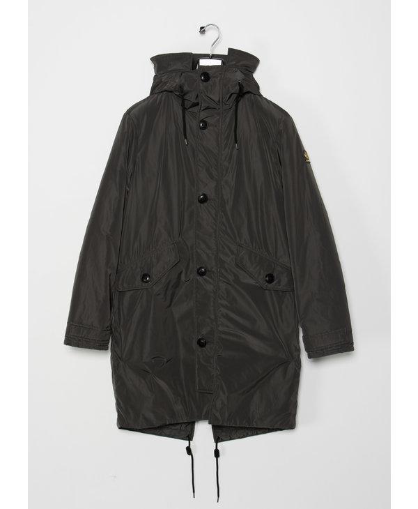 Grey Olof Aviator Long Coat