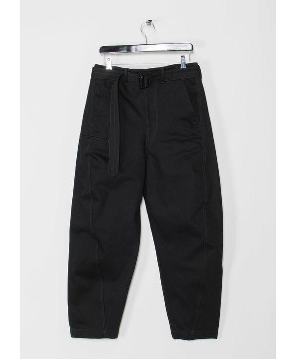 Pantalon Twisted Noir