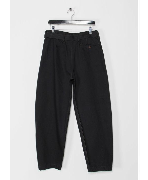 Black Twisted Pants