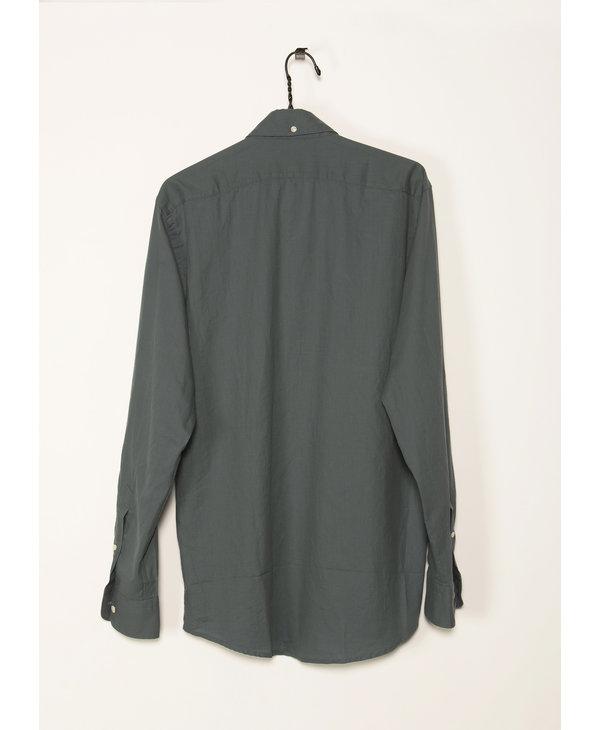 Chemise Verte en Flannel Léger
