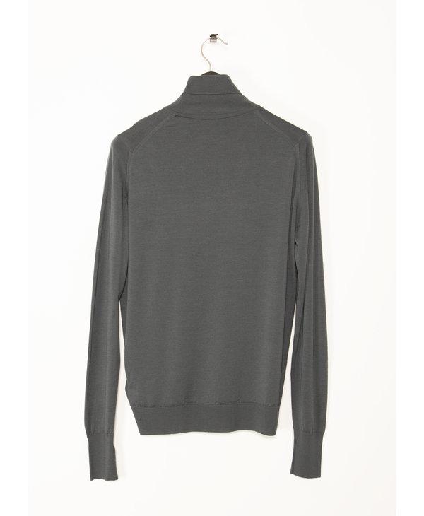 Grey Roll Neck Richards Pullover