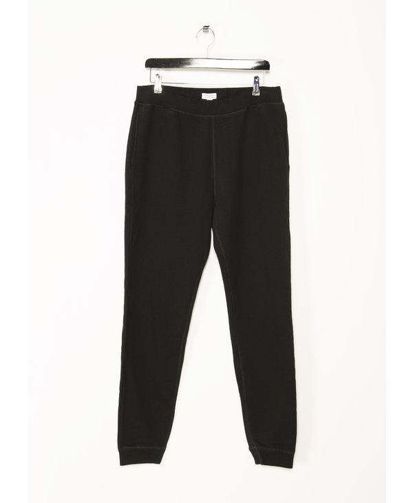 Black Loopback Sweatpants