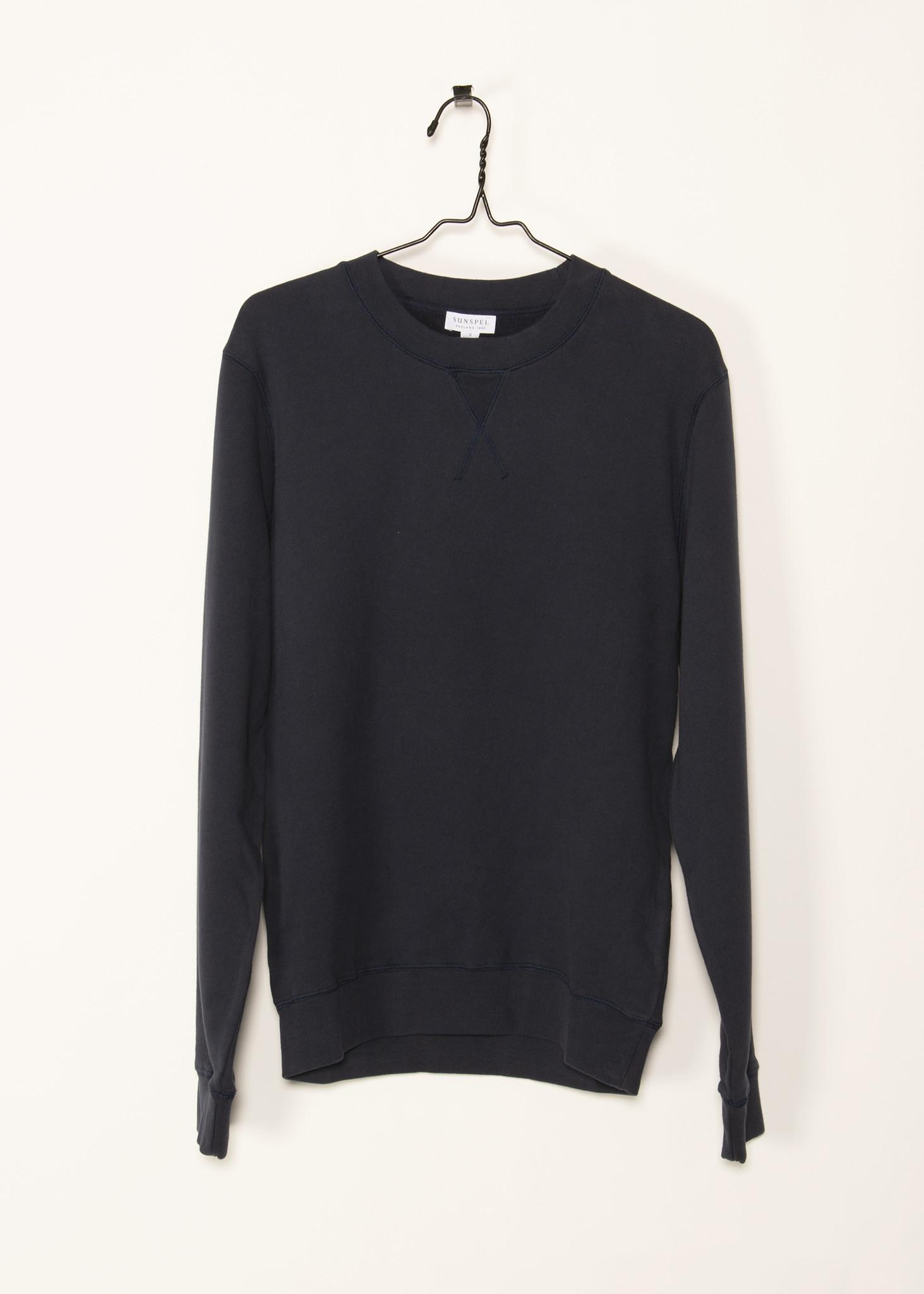 Black Loopback Sweater