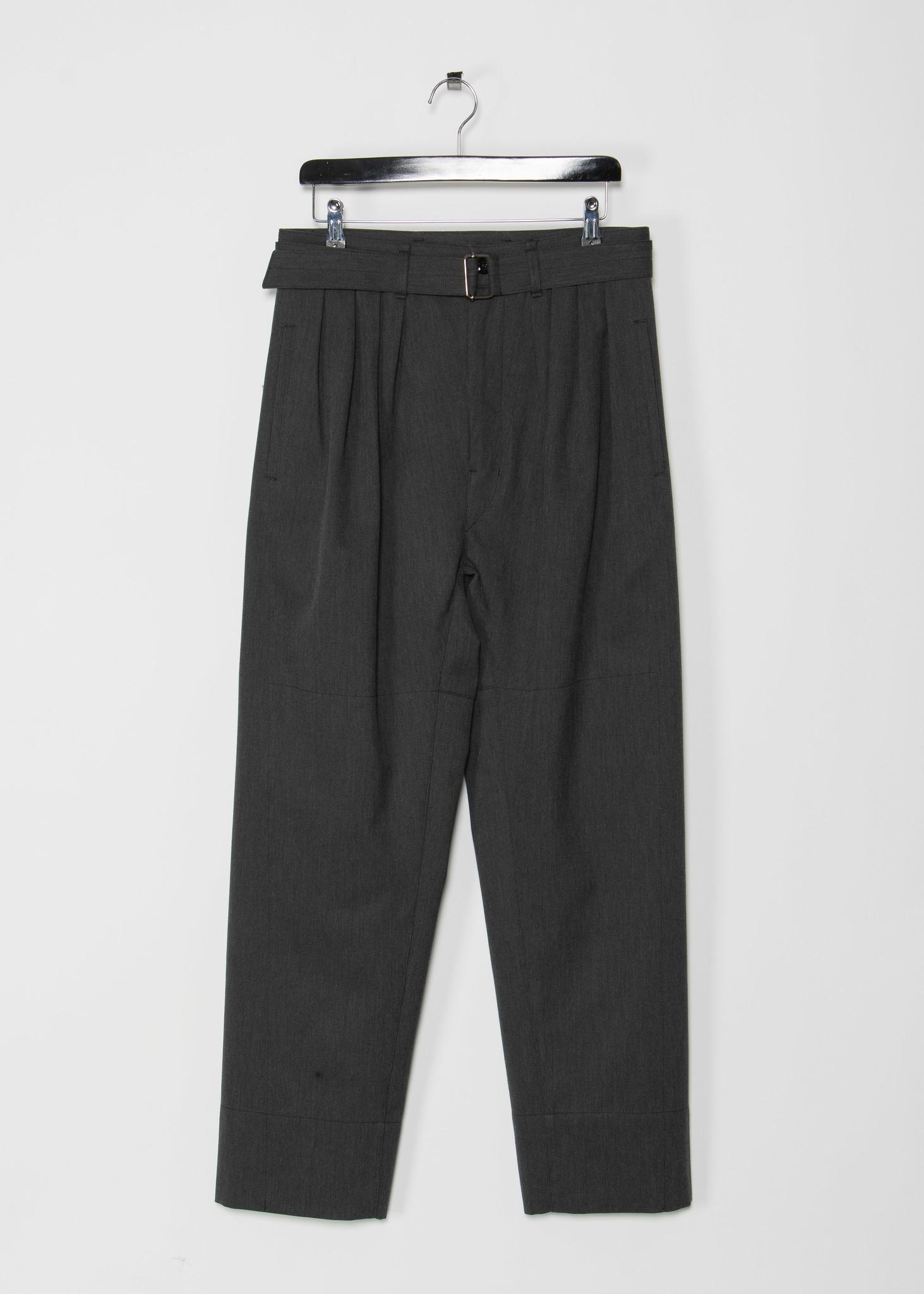 Pantalon 4 Pleats Anthracite