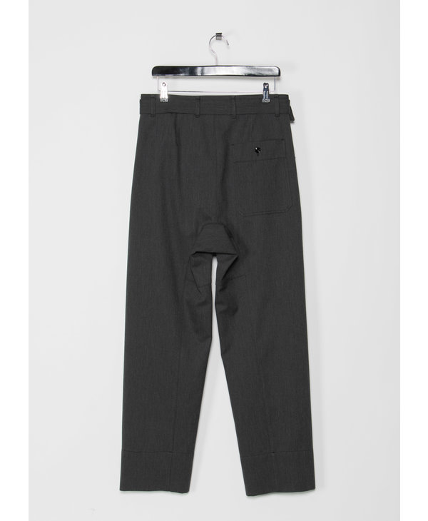 4 Pleats Anthracite Pants