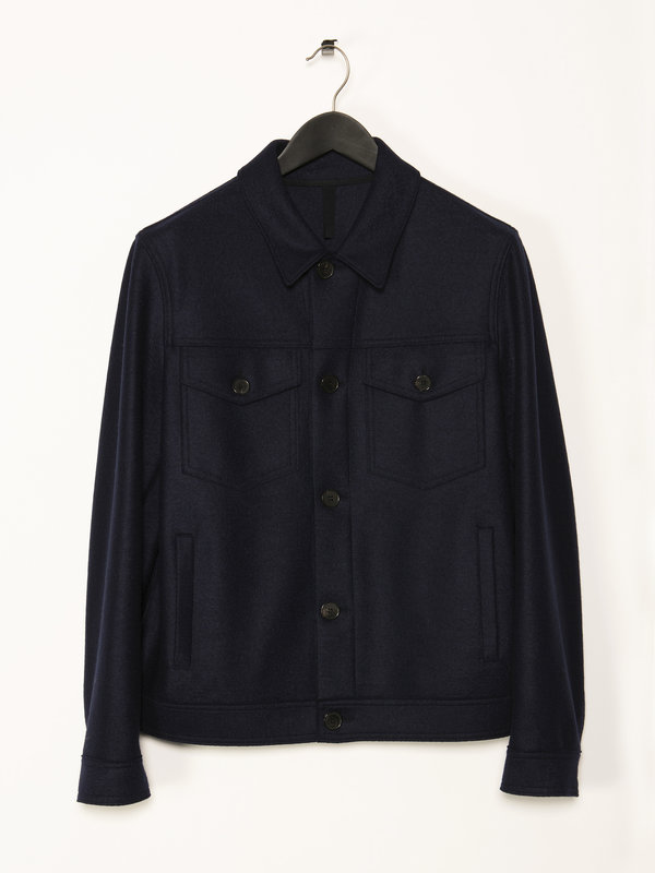 Navy Western Jacket