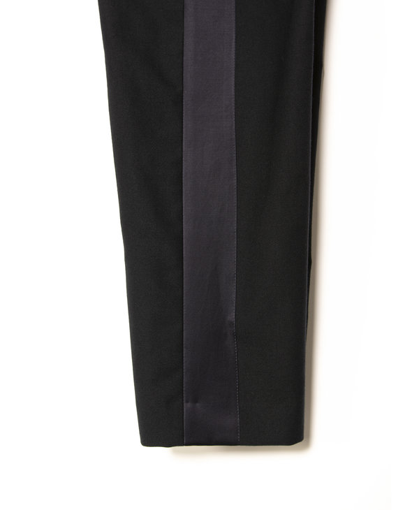 Navy Tape Trousers