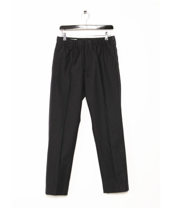 Pantalon à Bande Marine