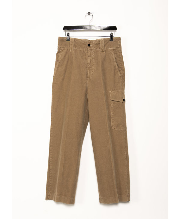 Camel Corduroy Trousers