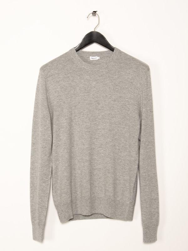 Filippa K Grey Cotton Merino Sweater
