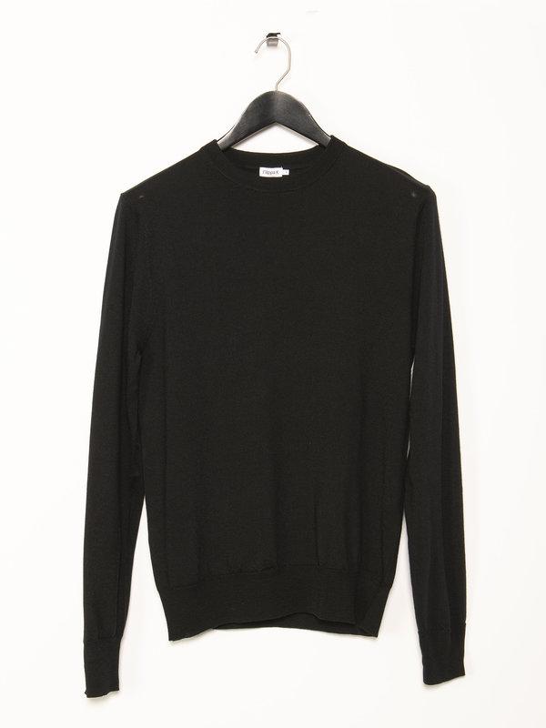 Filippa K Black Wool Sweater