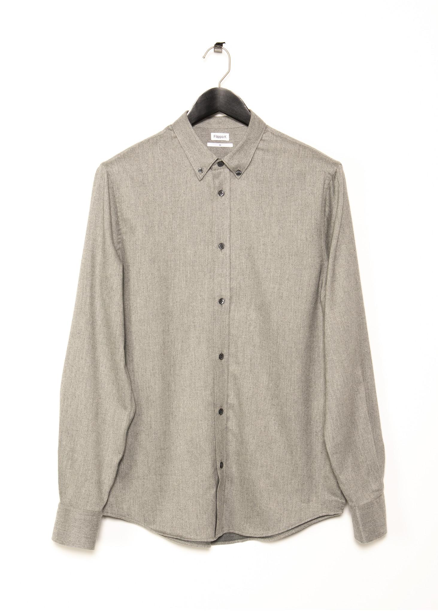Grey Lewis Flannel Shirt
