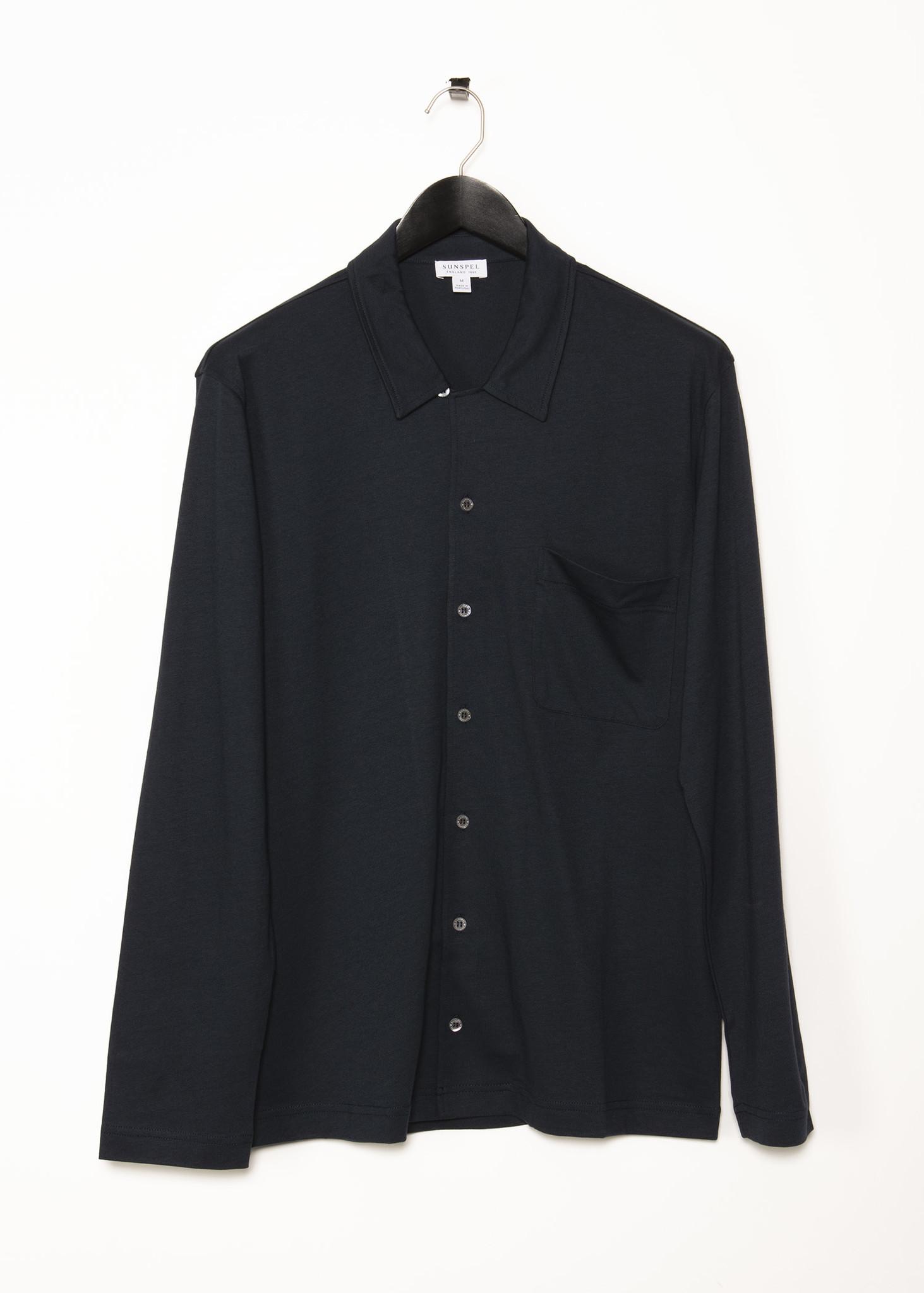 Navy Pyjama Shirt